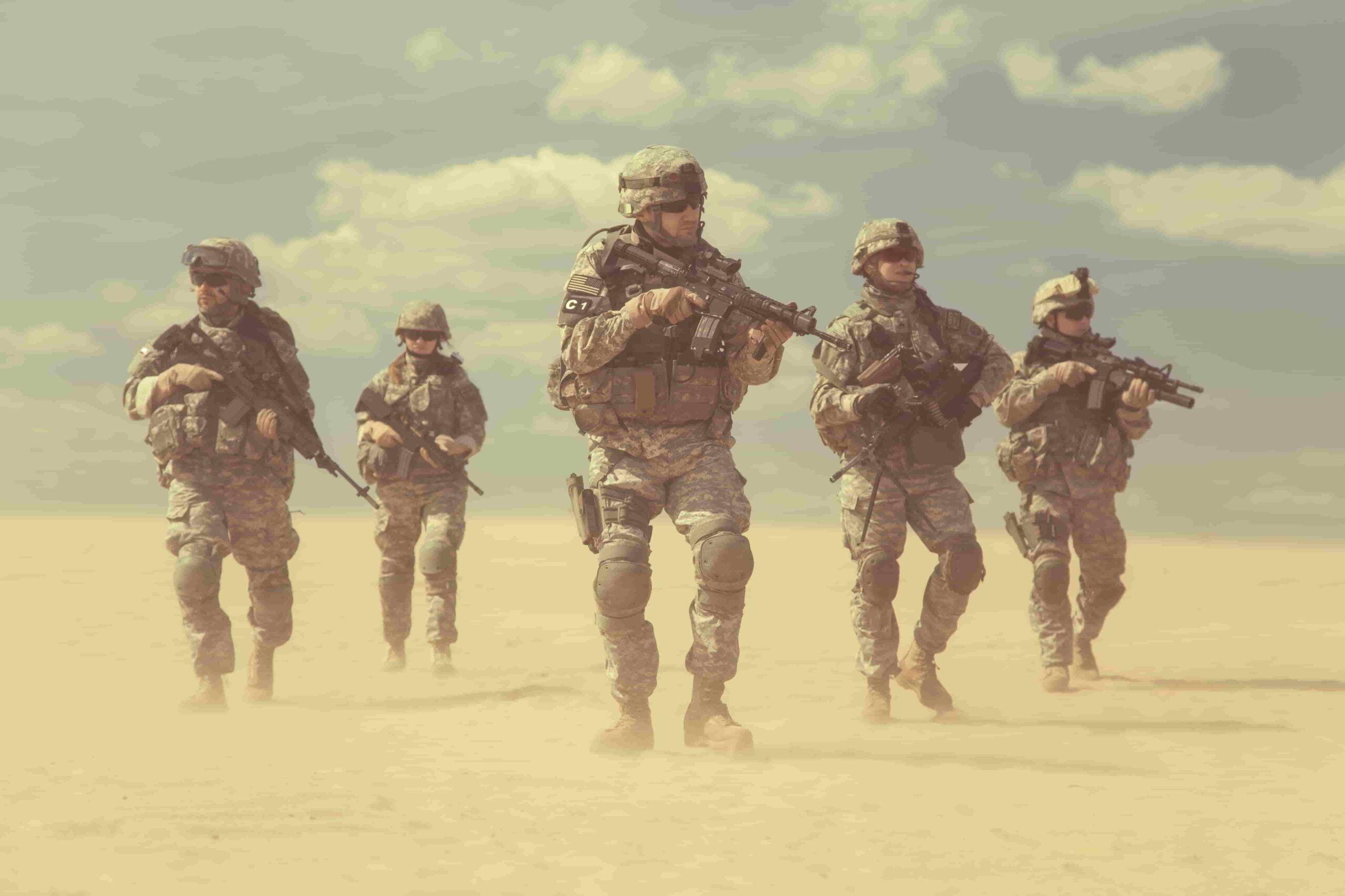opositar al ejército